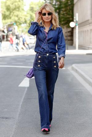 Фото №4 - От бедра: как выбрать правильные джинсы-клеш