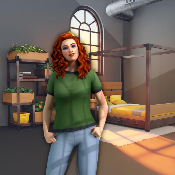 Фото №1 - Что тебя ждет в новом наборе «Лофт комплект» для The Sims 4 🌃