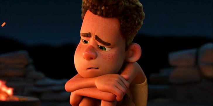 Фото №5 - 10 невероятно прекрасных и трогательных сцен из мультфильма «Лука» от Pixar 🌊
