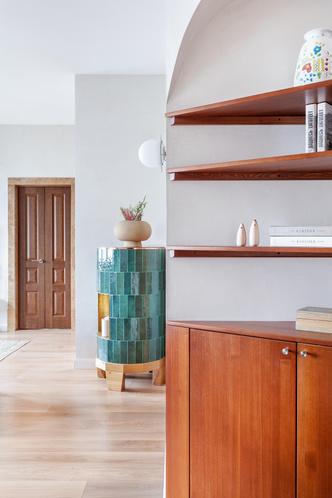 Фото №5 - Квартира в скандинавском стиле с печью