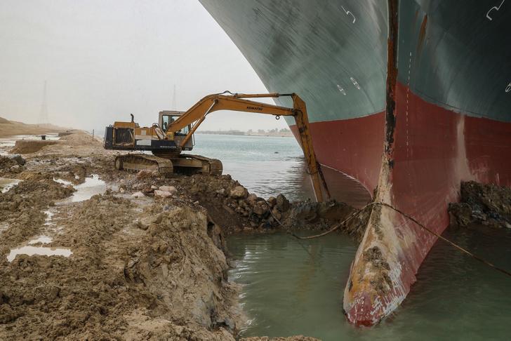 Фото №7 - 12 глубоководных фактов о Суэцком канале— главной морской срезке в истории человечества