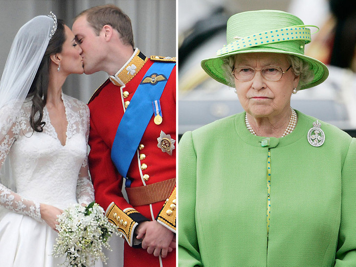 Фото №1 - Странный подход: чем Королева была недовольна на свадьбе Уильяма и Кейт
