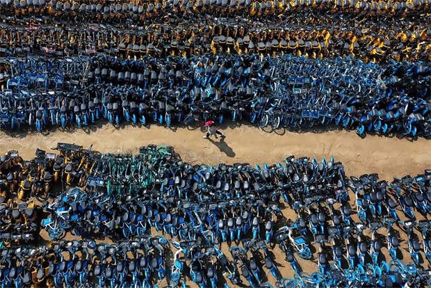 Фото №1 - Китайское кладбище велосипедов