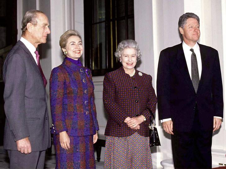 Фото №2 - Грубость президента: почему Билл Клинтон отказался пить чай с Королевой