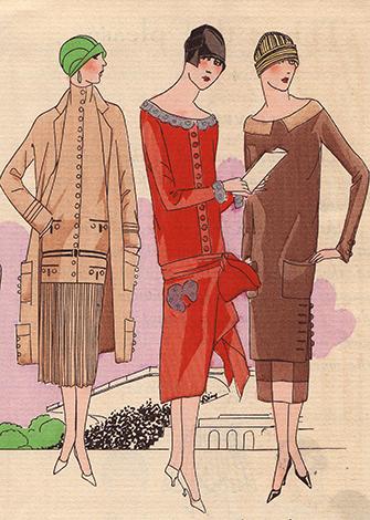 ХХ век: платье «под мальчика»