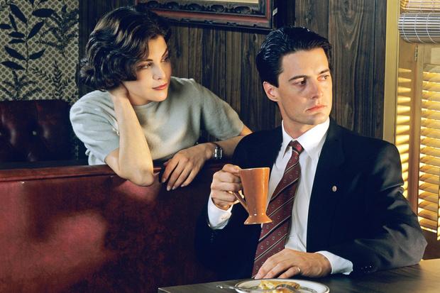 ФотоКадр из сериала «Твин Пикс», 1990–1991 гг.
