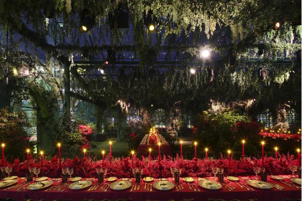 Фото №6 - Dior показали коллекцию высокого ювелирного искусства на чарующе таинственном ужине в Китае