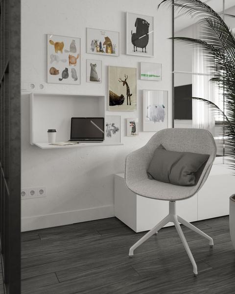 Фото №6 - My Space: Как оформить рабочее место дома, чтобы за ним хотелось учиться