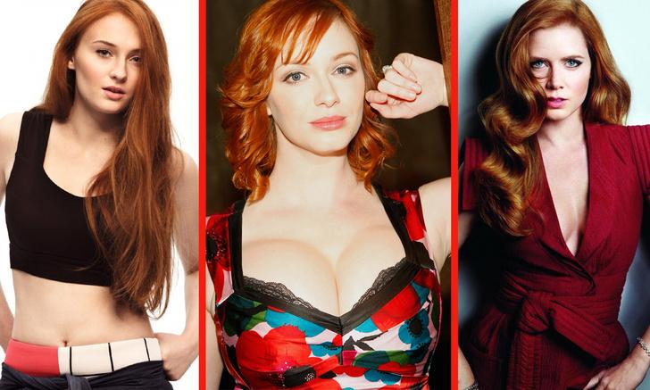 Фото №1 - Самые горячие рыжие актрисы и певицы