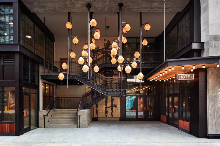 Фото №2 - Новый Ace Hotel в Бруклине с коллекцией текстильного искусства