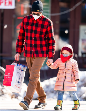 Фото №8 - В тренде с пеленок: как одеваются дети голливудских звезд— Шейк, Дженнер и других