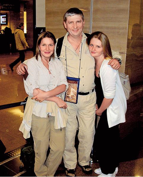 Елена Проклова с семьей фото