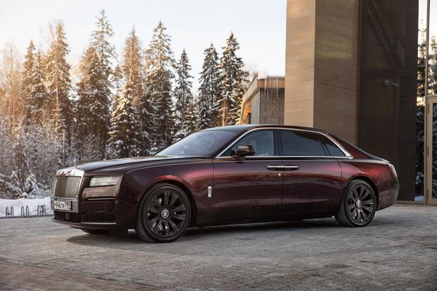 Фото №3 - Rolls-Royce Ghost: пространство, антивирус, 3D-технологии и… шампанское!