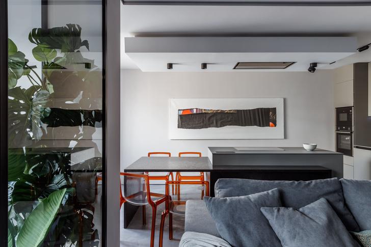 Фото №1 - Квартира с эффектной ванной в Краснодаре 89 м²