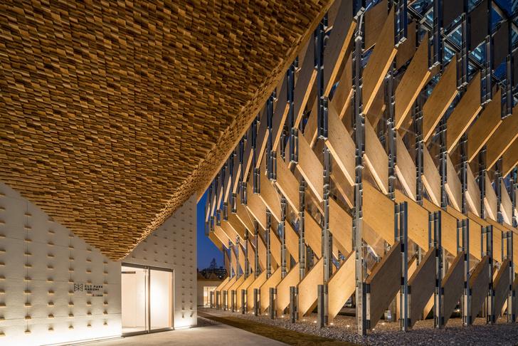 Фото №6 - Деревянный павильон по проекту Кенго Кумы в Токио