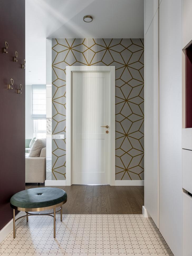 Фото №15 - Московская квартира 80 м² с яркой геометрией
