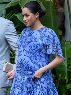 Фото №4 - Не просто кадр: что и кому Меган хотела сказать своим новым «беременным» фото