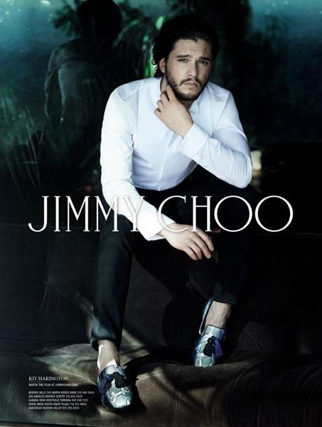 Кит Харингтон в кампании Jimmy Choo осень-зима 2014/15