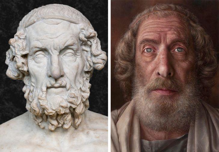 Фото №7 - Как выглядели бы в реальной жизни знаменитые статуи