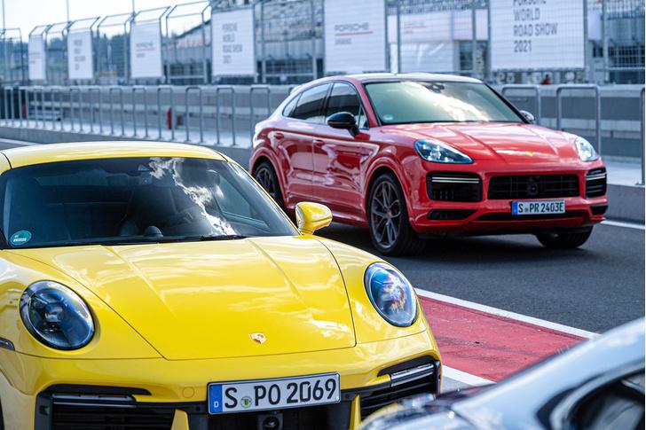 Фото №3 - Успеть за четыре часа: как Санкт-Петербург принял Porsche World Road Show