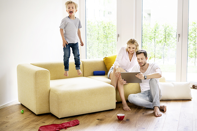 Mom, dad, am I a contract family?