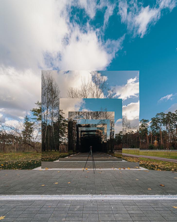 Фото №4 - Зеркальный черный квадрат в парке имени Казимира Малевича