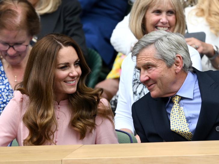 Фото №1 - Любящий отец и лучший друг: герцогиня Кейт и ее трогательные отношения с Майклом Миддлтоном