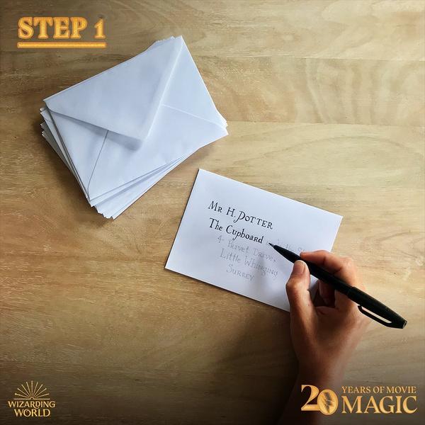 Фото №4 - DIY: как сделать себе письмо из Хогвартса 🦉