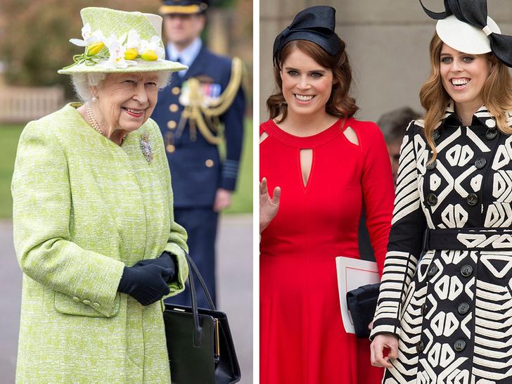 Фото №1 - На особом положении: почему королева относится к принцессам Беатрис и Евгении иначе, чем к другим своим внукам