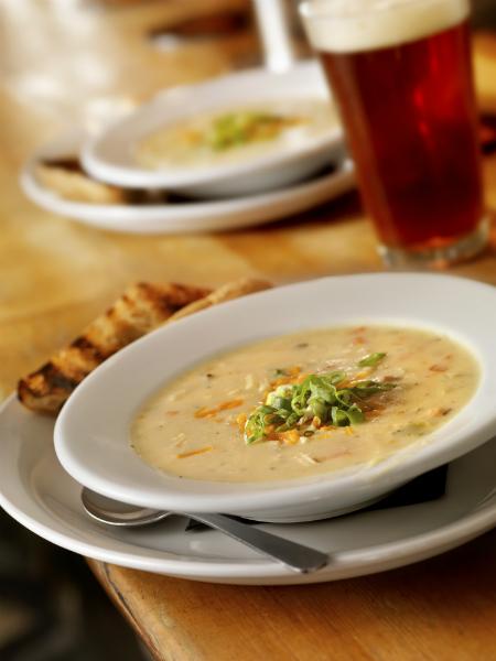 Крем-суп из овощей фото