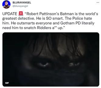 Фото №4 - В Сети появились первые впечатления о новом фильме «Бэтмен» с Робертом Паттинсоном 😲