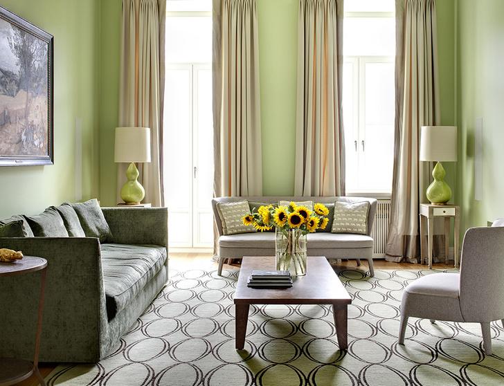 Фото №7 - Зеленый цвет в интерьере: советы по декору