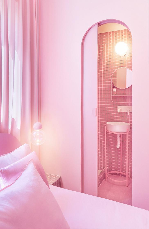 Фото №9 - Розовая квартира в центре Мадрида