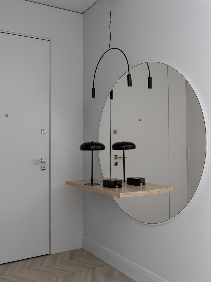 Фото №13 - Минималистская квартира 132 м² с ванной за стеклом