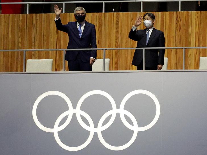 Фото №3 - Как прошло открытие Олимпиады в Токио: самые яркие кадры