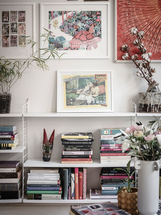 Фото №10 - Уютная скандинавская квартира с микро-спальней в Гетеборге