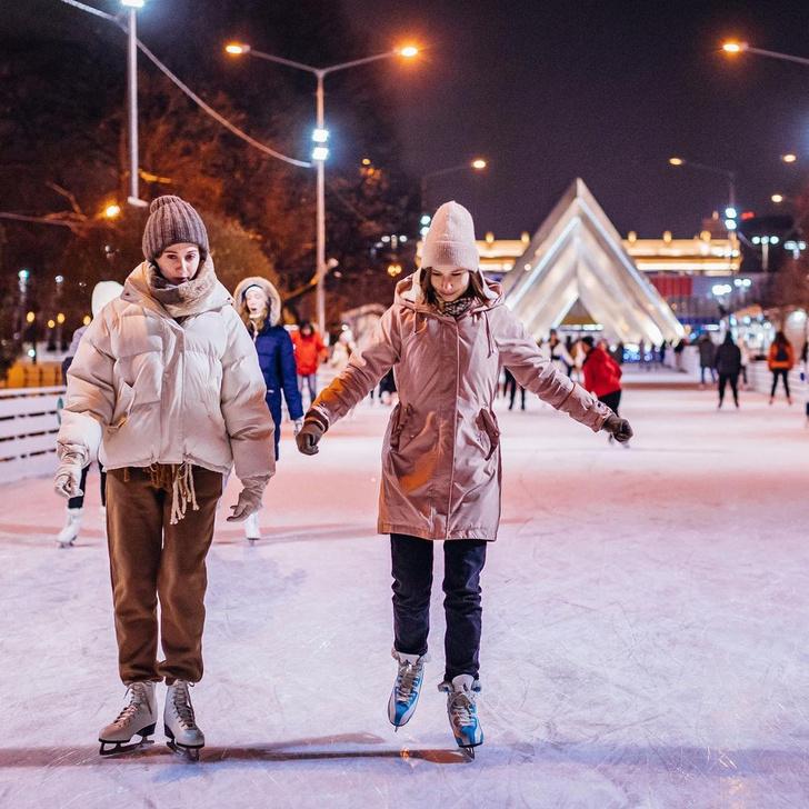 Фото №2 - Где кататься на лыжах и коньках в Москве