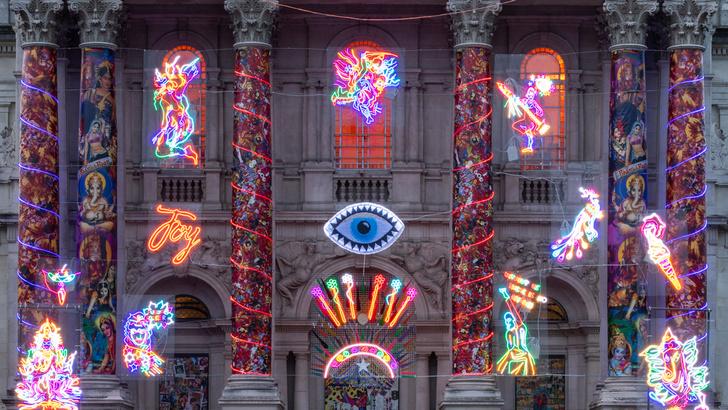 Фото №6 - Инсталляция на фасаде Британской галереи Тейт