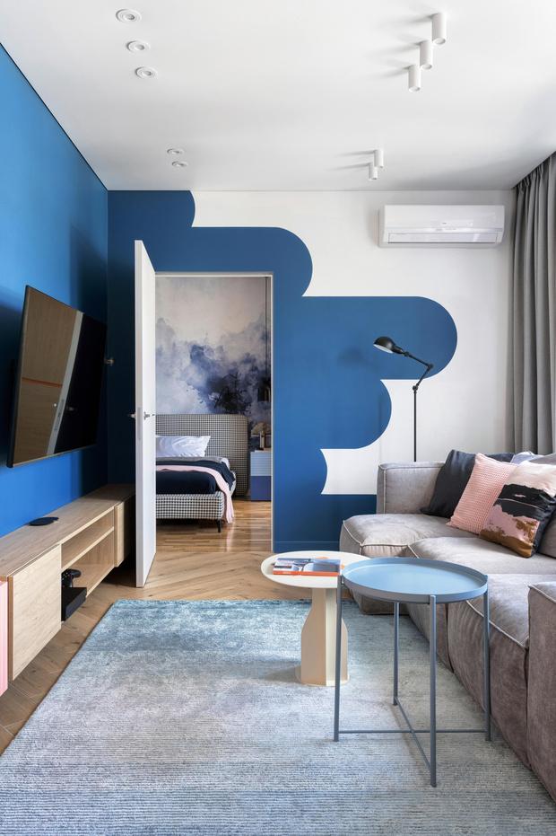 Фото №5 - Яркая квартира для молодой семьи в Киеве 75 м²