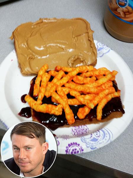 Фото №8 - Дикие пищевые привычки звезд: вода с солью, сэндвич с чипсами, пицца с начинкой из пасты и немного глины на закуску