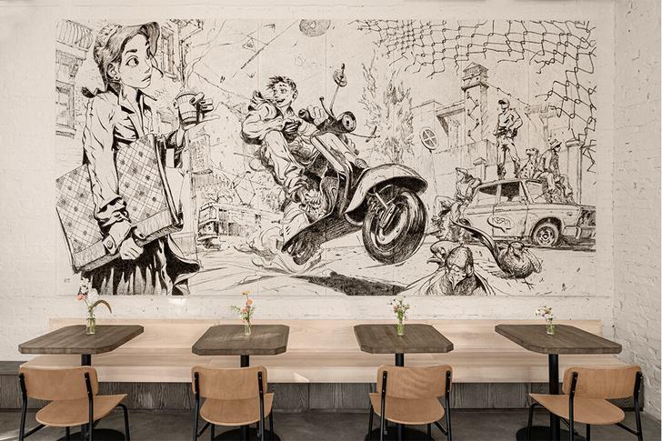 Фото №14 - «Дилетант»: городское кафе в центре Киева