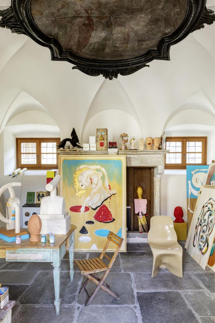 Фото №4 - Дом художника: арт-вилла в Италии