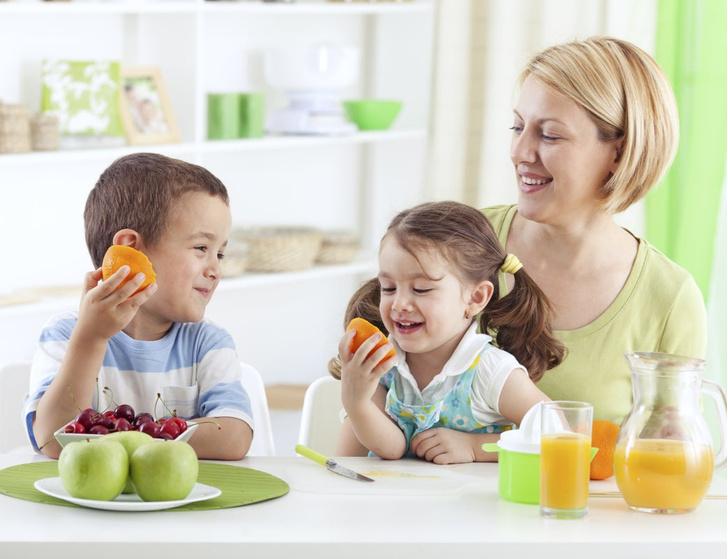 незаменимые элементы пищи для ребенка