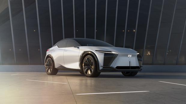 Фото №1 - Lexus представил новый концепт-кар с полностью электронной системой управления