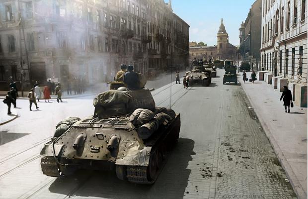 Фото №22 - 22 завораживающих цветных фото Второй мировой