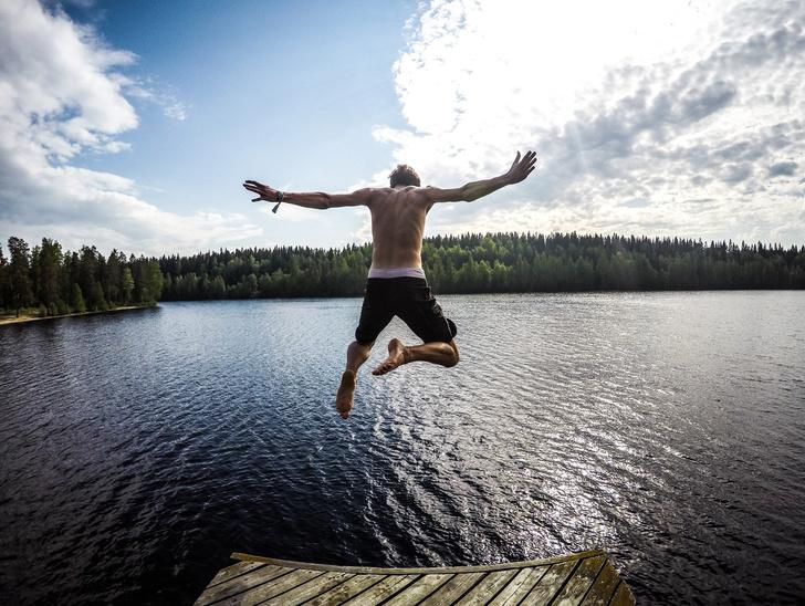 купаться лето