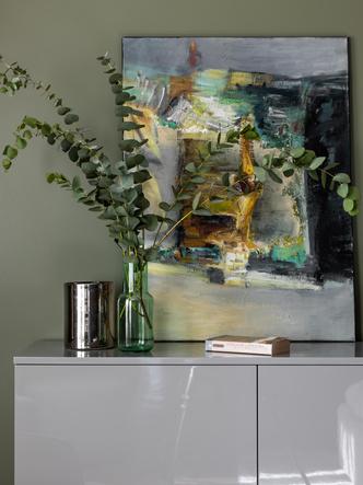 Фото №12 - Серый + горчица: уютная квартира 108 м² в Самаре