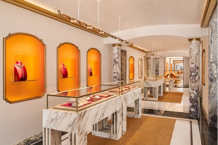 Фото №4 - Новый бутик Bvlgari в Париже: проект Питера Марино