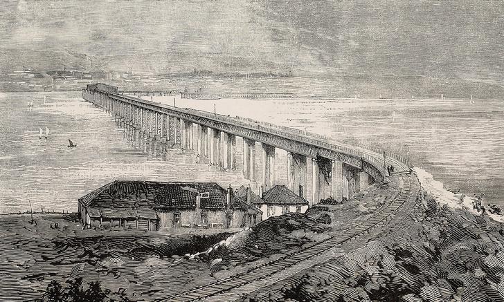 Фото №2 - Крушение поезда на мосту через Тей— крупнейшая железнодорожная авария в истории Великобритании