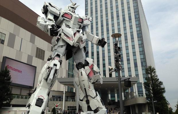 Фото №1 - Почему японцы так любят гигантских роботов